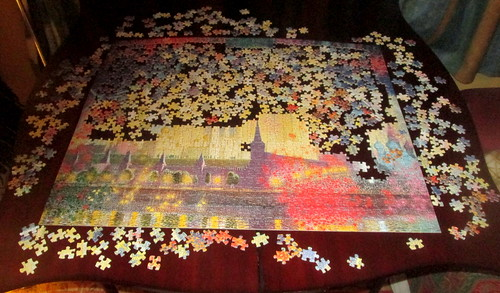 Unfinished Jigsaw