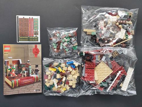 LEGO Seasonal Charles Dickens Tribute (40410)