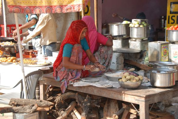 DSC_2175IndiaPushkarCamelFairMetDeDeegroller