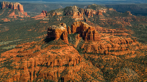 Cathedral Rock, Sedona AZ (Aerial View) | by John A Henderson
