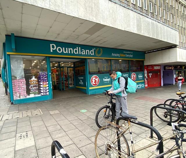 Lockdown 2 Day 12 - Poundland  (An Essential Service)