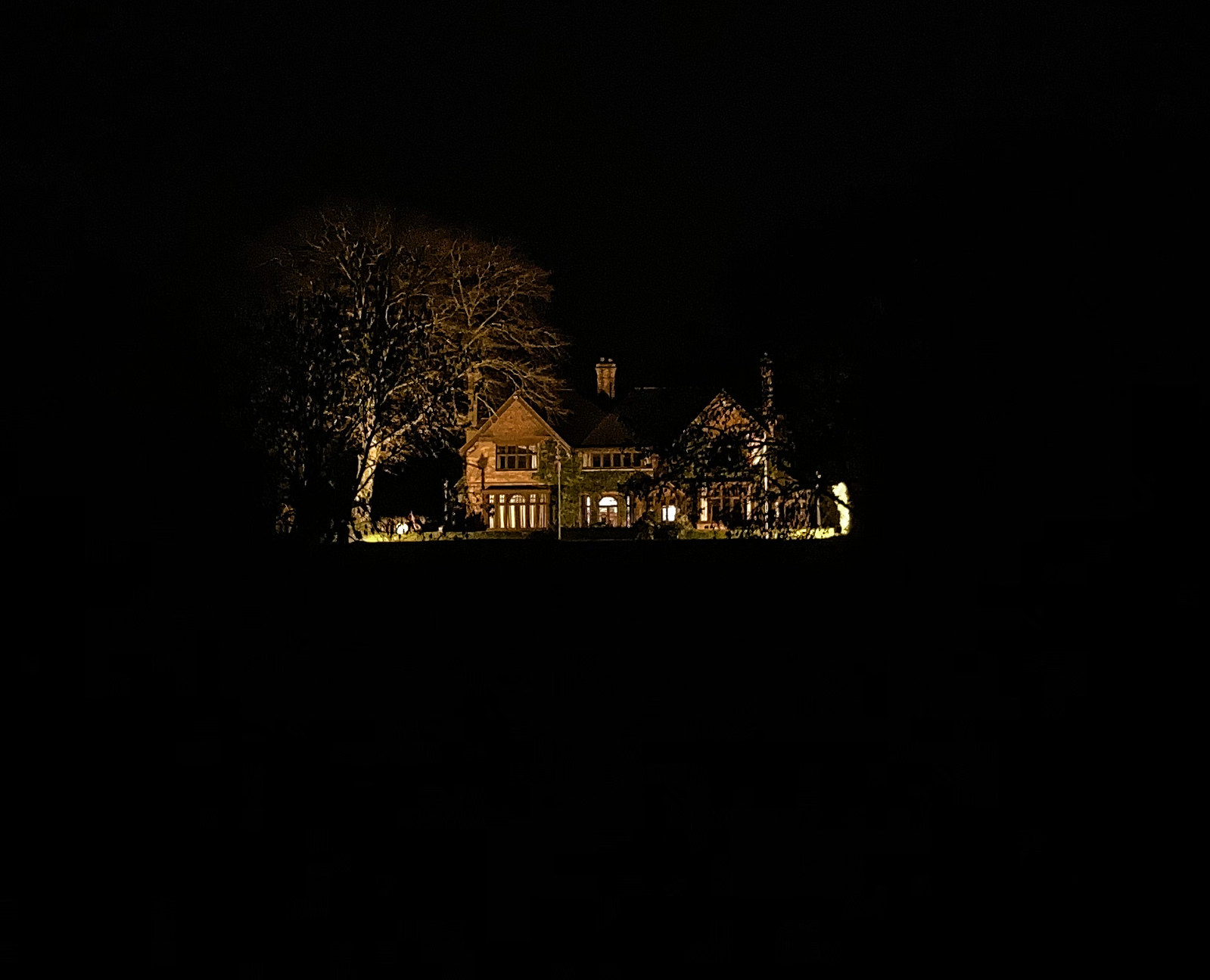 Ghost house on Shillingford Hill