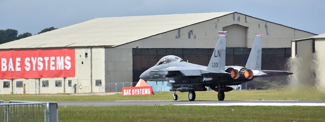 RIAT / AIRTATTOO * F-15E STRIKE EAGLE * 48FW * 96-202 LN * 492th FS