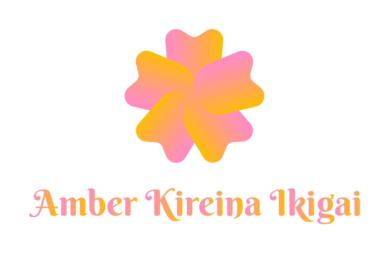 Amber Kireina Ikigai - Logo - Study 3