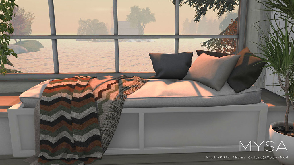 New Release: Cozy Window Seat Now at Cosmopolitan!