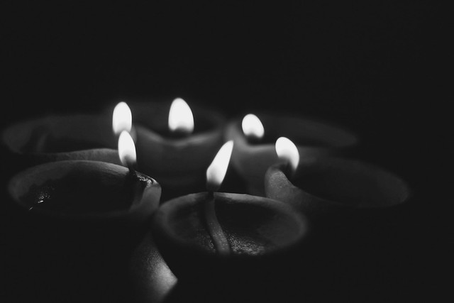 The candles are many but the light is one - Rumi