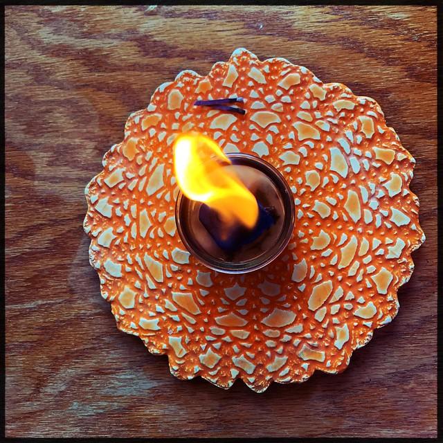Bonfire Candle Prototype
