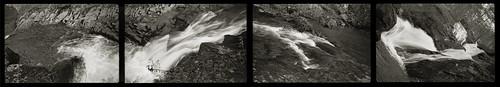 bw film pota 4791 fuji falls waterfall statonsrun virginia tetraptych