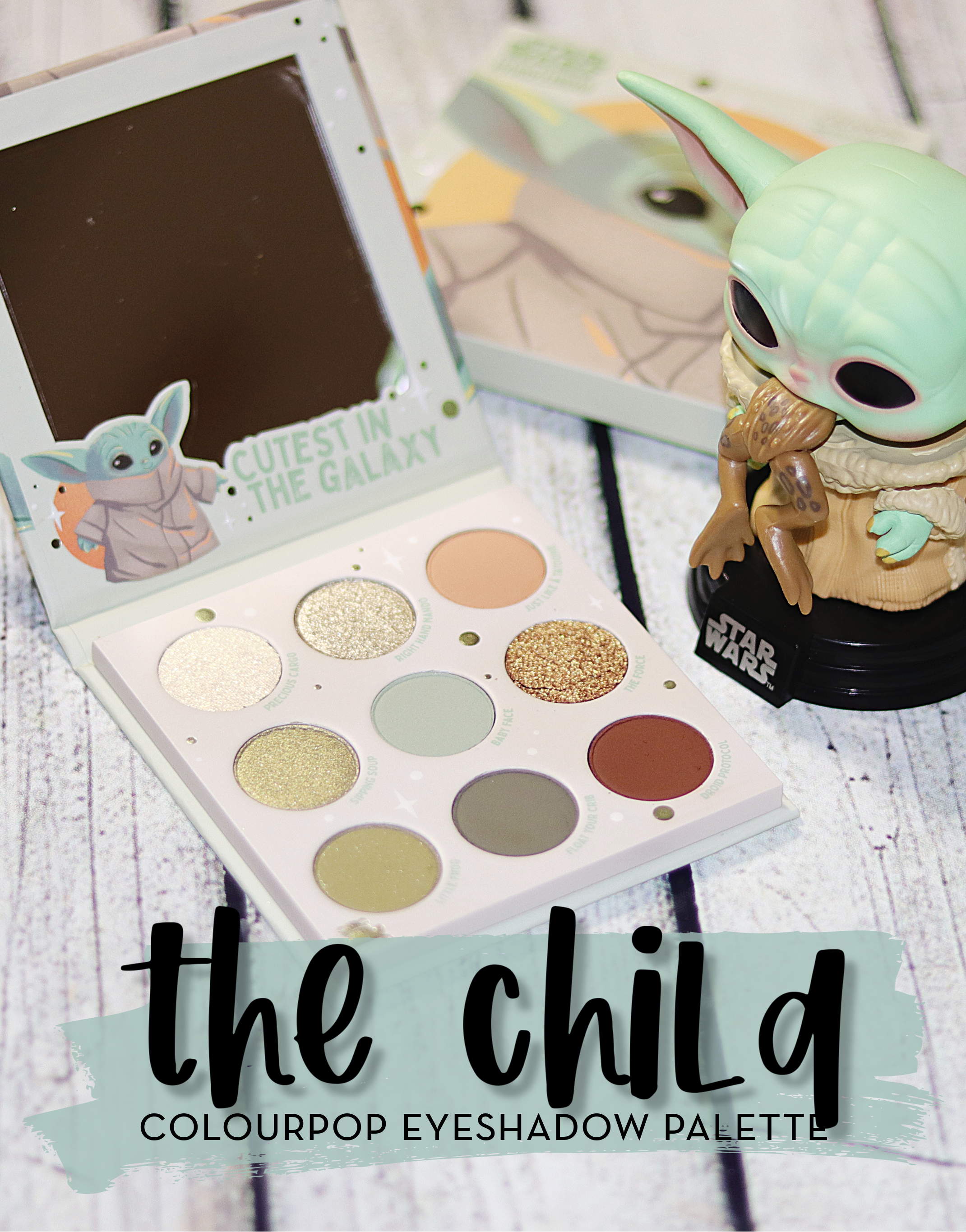 colourpop the child eyeshadow palette