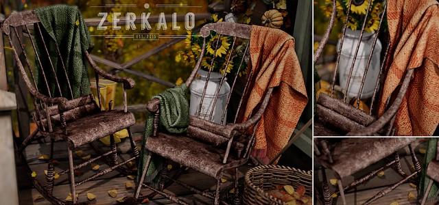 [ zerkalo ] Bergen Rocking Chair @Kustom9