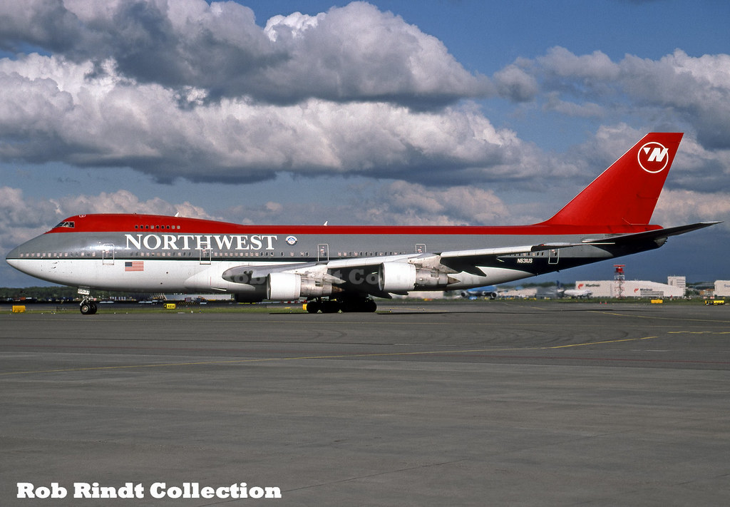 Northwest Airlines B747-251B N631US
