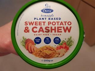 Chris's Plant Based Sweet Potato and Cashew Dip
