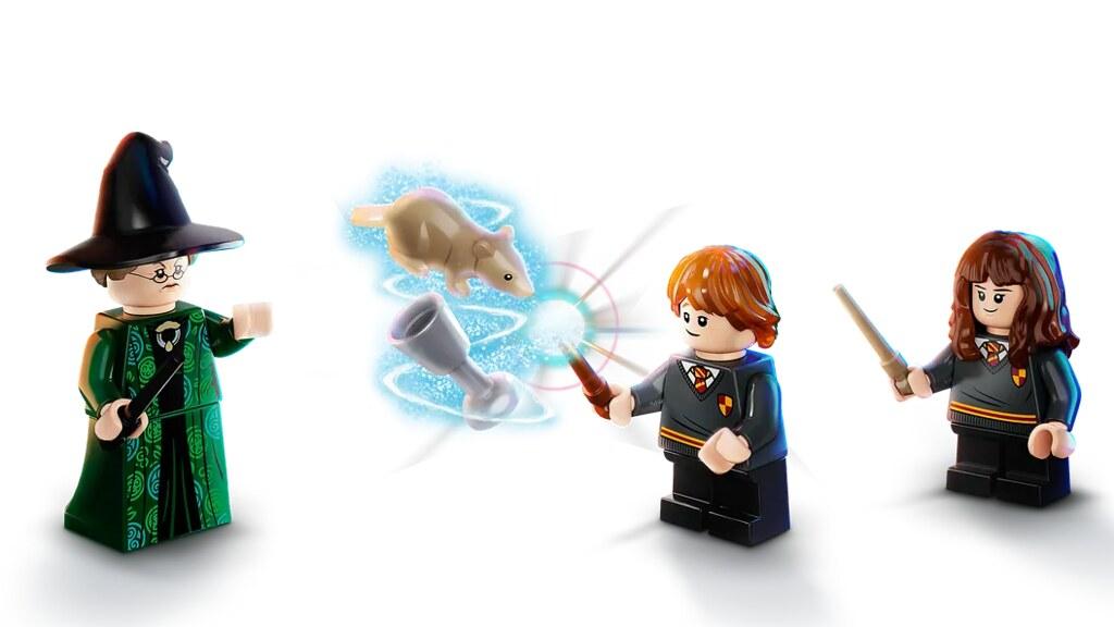 LEGO 76382~76385《哈利波特》Hogwarts Moment 四款盒組發表!翻開課本一起學習魔法吧~