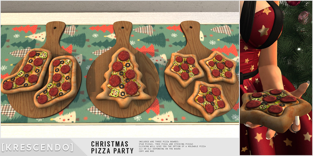 [Kres] Christmas Pizza Party