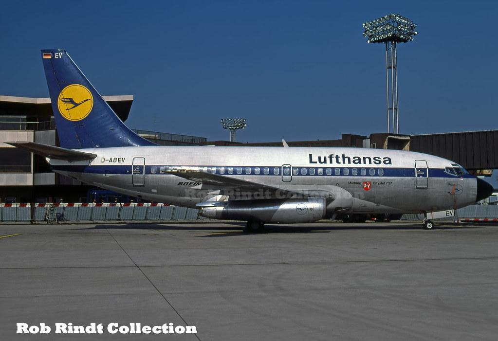 Lufthansa B737-130 D-ABEV