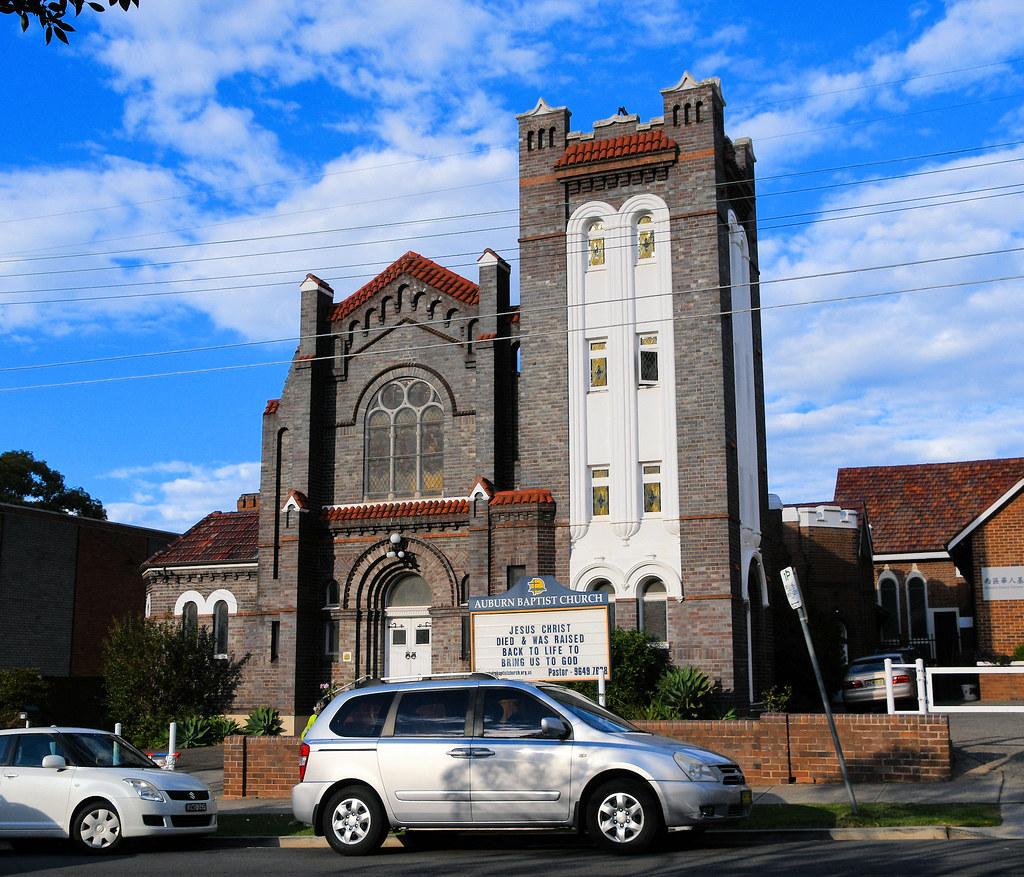 Baptist Church, Auburn, Sydney, NSW.