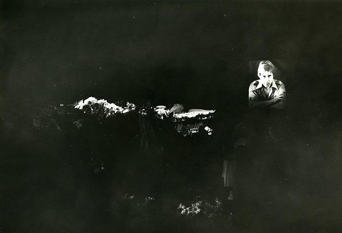 1980. Похороны Владимира Высоцкого. ул. Чкалова (Земляной вал). 28 июля (1)