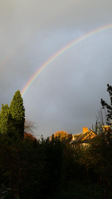 Rainbow - ascending curve