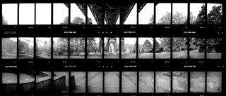 St. Johns Bridge Composite 171016 | by jimhairphoto