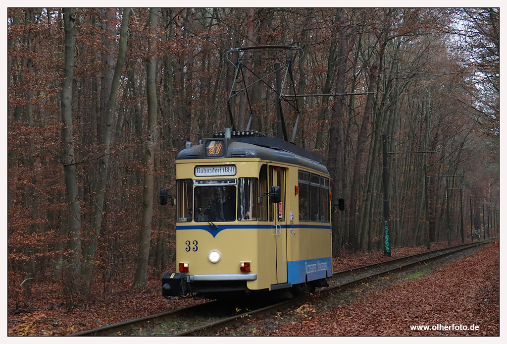 Tram Woltersdorf - 2020-07