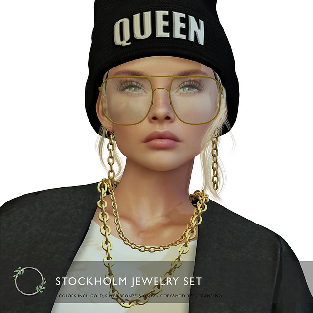 Ohemo - Stockholm jewelry set (chains) ad