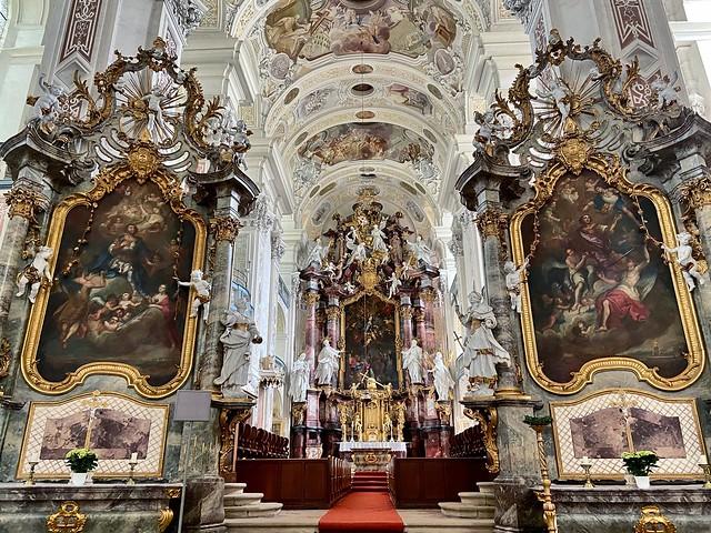 Barocke Klosterkirche Schöntal