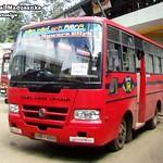 NB-4044 Nuwaraeliya Depot Ashok Leyland -  Stag E type Bus at Nuwaraeliya in 09.09.2012