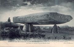 Carnac La table des Marchand en 1900