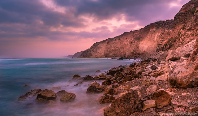 Early morning on the seashore