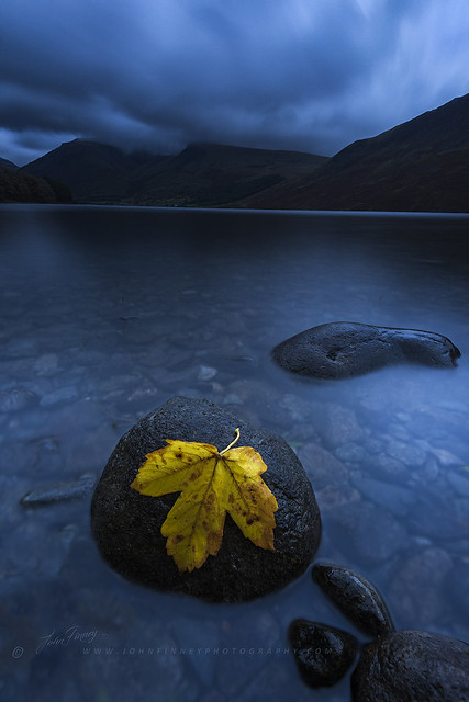 Wastwater Blue Hour
