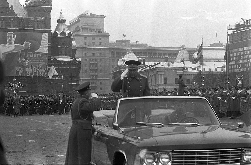 1977. Красная площадь. 7 ноября1