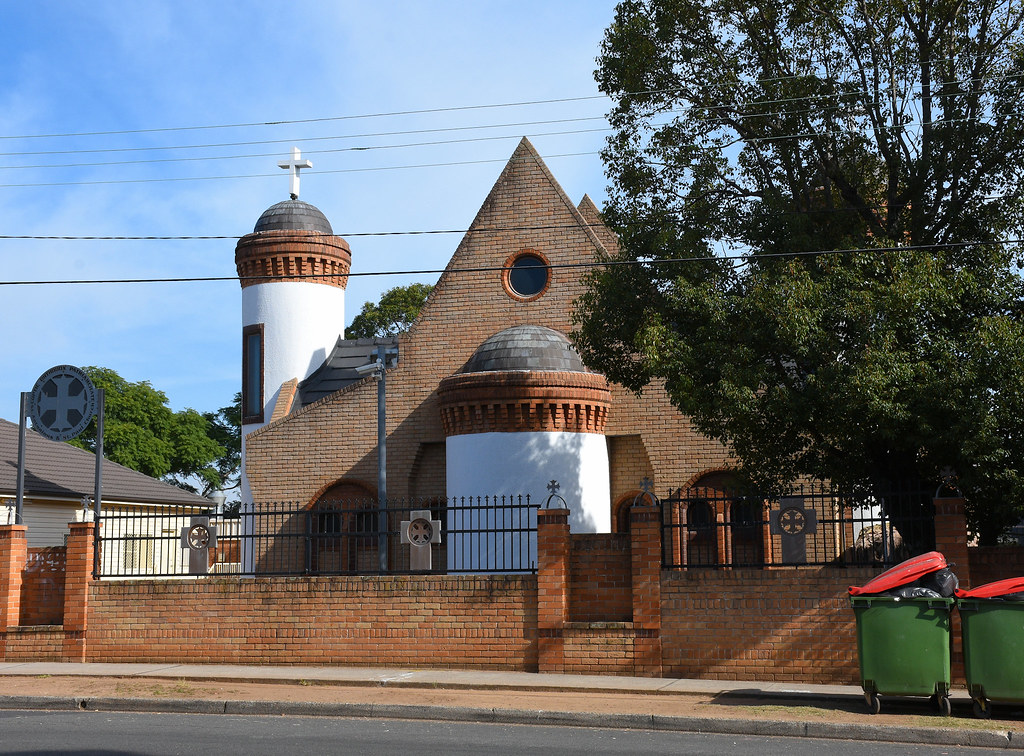St Anthony's and St Paul's Coptic Orthodox Church, Guilford, Sydney, NSW.