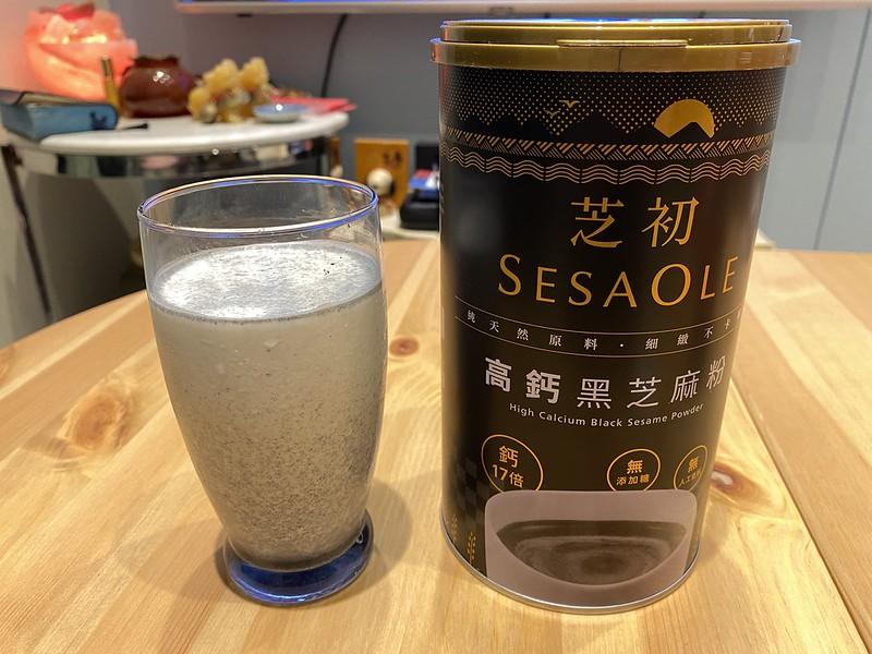 輕鬆補鈣怎麼吃?芝初高鈣黑芝麻粉,懶人料理食譜分享 @秤秤樂遊遊