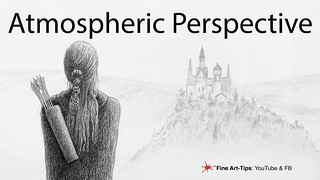 What is ATMOSPHERIC PERSPECTIVE IN ART and how to use it | by fineart-tips