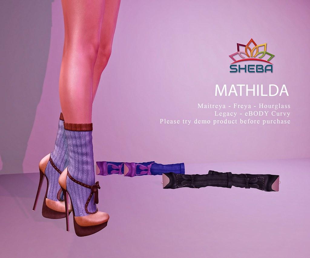 [Sheba] Mathilda Heels