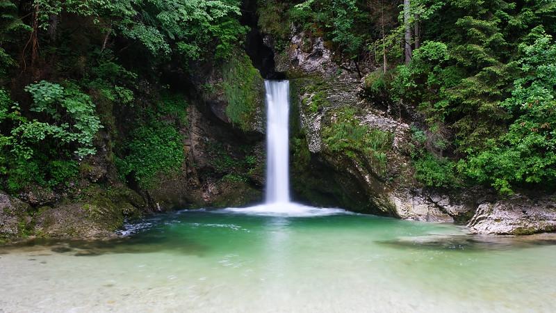 Grmečica Waterfall, Triglav National Park, Slovenia