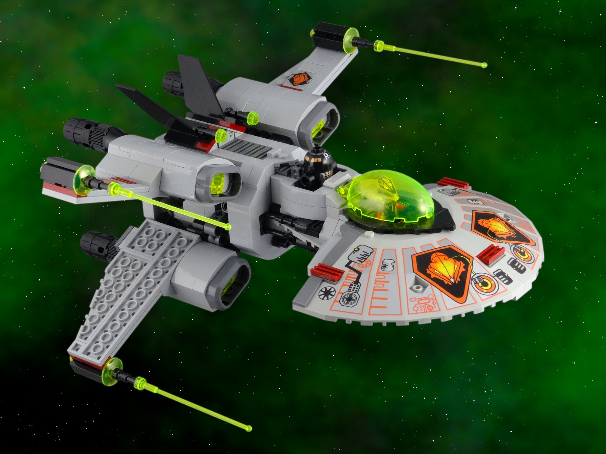 Warp Wing Fighter