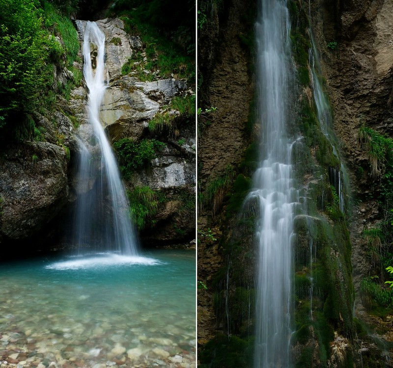 Sopota and Krampez Falls, Triglav National Park, Slovenia