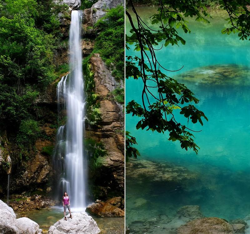 Beri waterfall trail, Triglav National Park, Slovenia