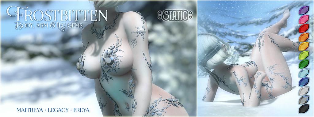 Frostbitten Gems ~ Arms & Legs