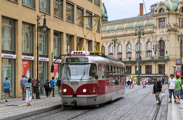 Prague tramway: Tatra T3R # 8275