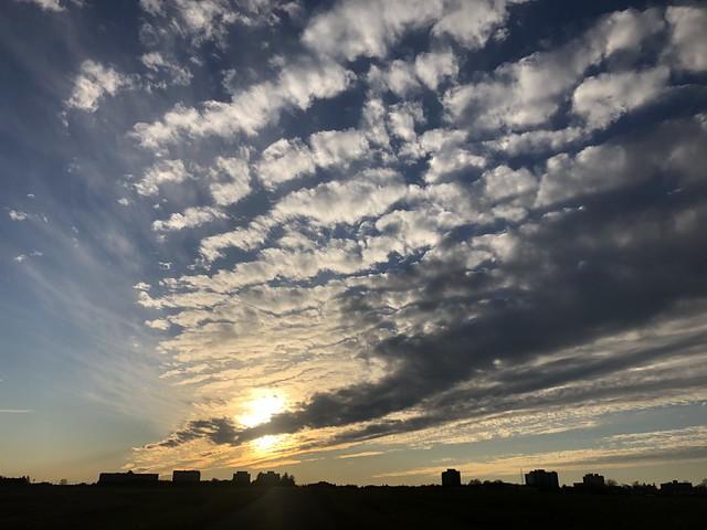 Big sky over the Central Experimental Farm in Ottawa