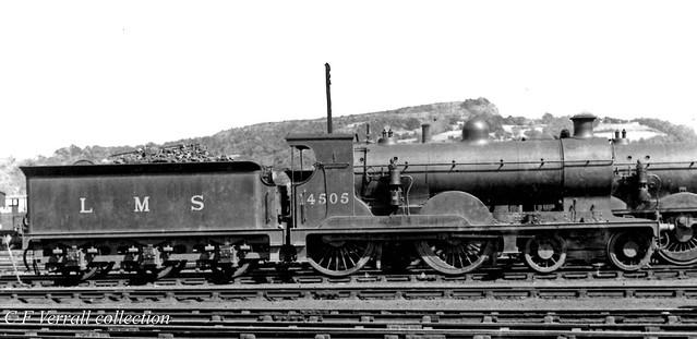 LMS 14505 at Perth MPD