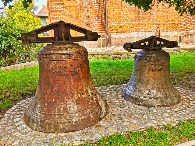 Waren/Müritz - Marienkirche, frühere Glocken