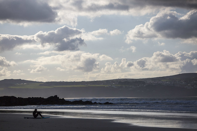 In Isolation, Gwithian Towans, Hayle, Cornwall