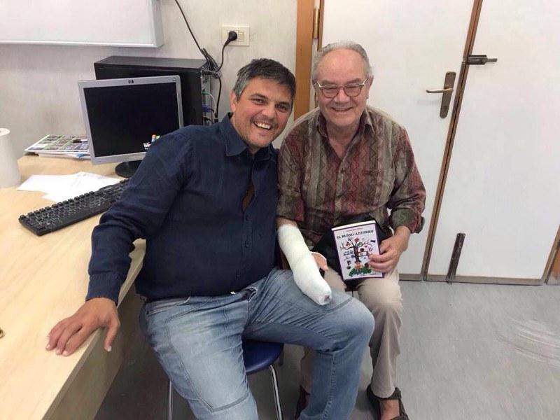 Alessandro Russo e Mario Samperi