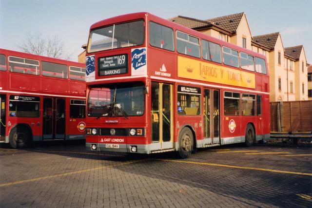 East London Leyland Titan T194 CUL194V