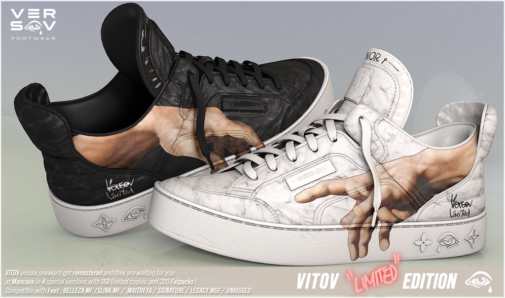 [ Versov // ] LOWOV LIMITED EDITION SNEAKERS available at MAN CAVE
