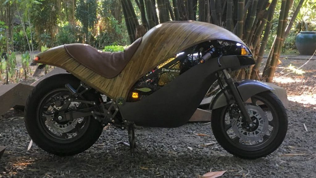 Motorcycle from Bamboo