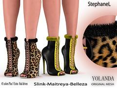 [StephaneL] YOLANDA SHOES FATPACK